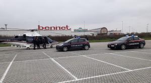 Lomellina, i carabinieri setacciano il territorio