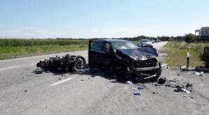 Vigevano: scontro in viale Industria, deceduto il motociclista 48enne