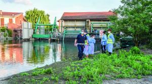 Cassolnovo, scivola nel Langosco: cinquantaquattrenne muore annegato