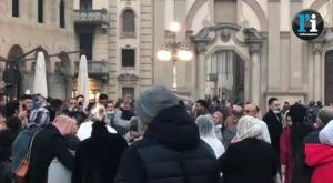 Vigevano: scene da un matrimonio in piazza Ducale