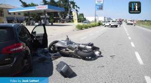 Vigevano, incidente in viale Industria: le immagini