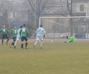 Vigevano-Lungavilla: molte occasioni, zero gol