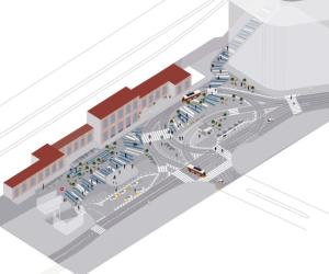 Piazzale Porta Genova diventerà pedonale: guardate come