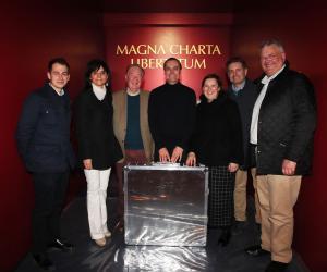 La Magna Charta in mostra a Vercelli