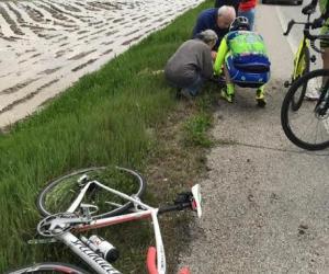 Cassolnovo, ciclista investito sulla provinciale: è in prognosi riservata a Novara