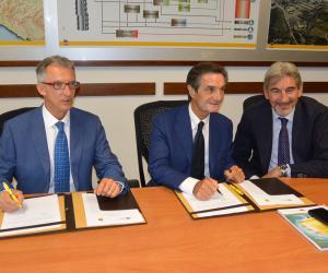 Firmato a Sannazzaro il protocollo Regione-Eni su sostenibilità ed economia circolare