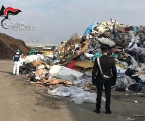 Origgio: oltre 3.500 tonnellate di rifiuti speciali stoccati illegalmente