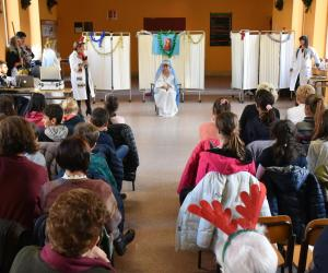 Il St George Pop Choir in concerto in ospedale