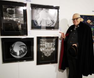 Franz Pelizza all'Expo d'arte internazionale di Innsbruck