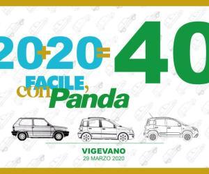 Per i 40 anni di Fiat Panda un mega raduno a Vigevano