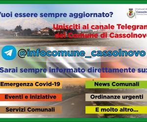 Cassolnovo, un canale su Telegram per l'emergenza
