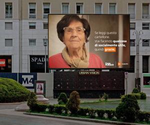 Nonna Rosetta di Casa Surace volto della campagna di sensibilizzazione