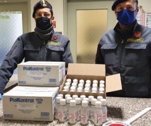 Garlasco, gel per la mani messo in vendita maggiorato del 300% : farmacista denunciato