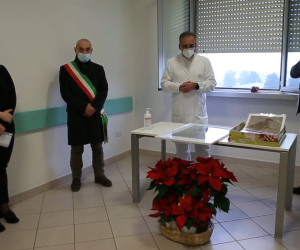 Mede: un quadro di Amisani in dono all'ospedale