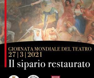 Il sipario restaurato: la presentazione nella giornata mondiale del teatro