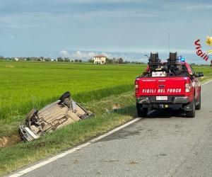 Incidente mortale sulla provinciale tra Vespolate e Robbio