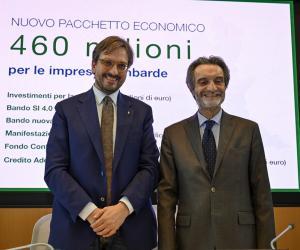 Regione Lombardia mette in campo 460 milioni per le imprese