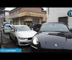 Vigevano, scontro tra auto in via San Giovanni
