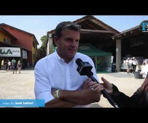 Vigevano: il senatore Gian Marco Centinaio ospite alla fiera agricola