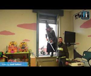 Una befana speciale all'Ospedale civile di Vigevano