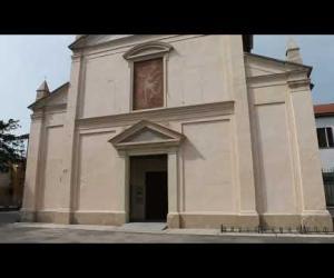 Mede, il restauro dell'abside della chiesa degli Angeli