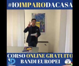 Corso online gratuito sui bandi Europei