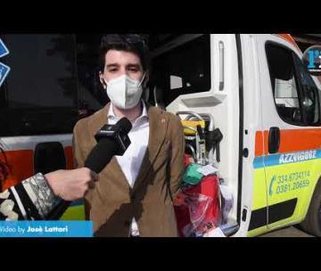 Il Leo Club di Vigevano dona materiale sanitario alla Croce Azzurra