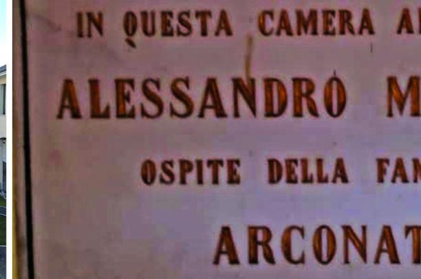 Una villa storica... e Alessandro Manzoni