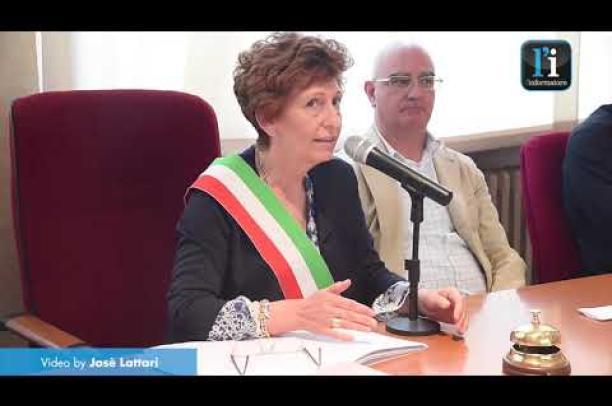 Cilavegna, il giuramento di Giovanna Falzone