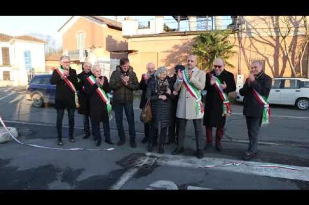 Sartirana dedica una piazza a Fausto Coppi